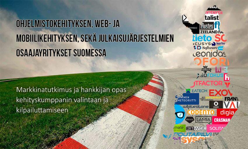Ohjelmistokehityksen ja julkaisujärjestelmäkehityksen osaajayritykset Suomessa-kartoitus